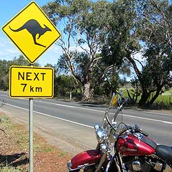 Motorcycle Tour Australia Best Of Route